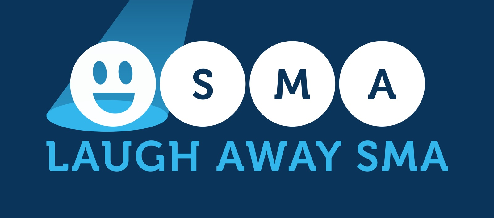 Laugh Away SMA logo